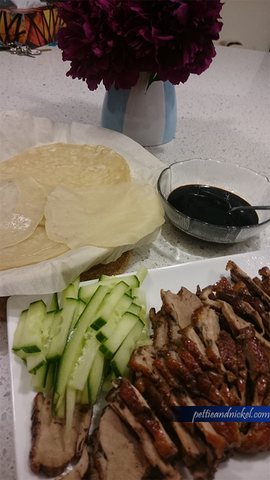 homemade peking duck
