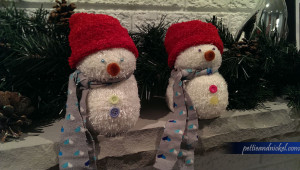 DIY Snowman from socks and rice
