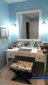 Bathroom MakeUp Table